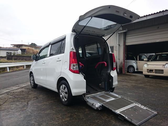 スズキ FX 1年保証付 車いすスローパー 福祉車両