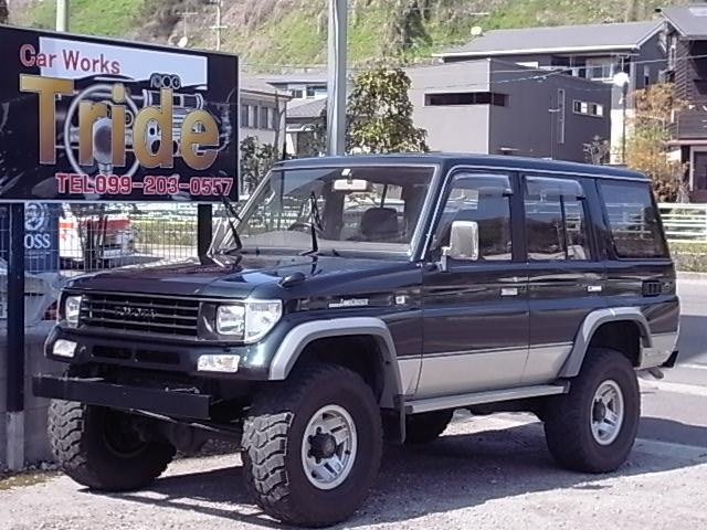 トヨタ SXワイド 社外バンパー 5速マニュアル 1ナンバー