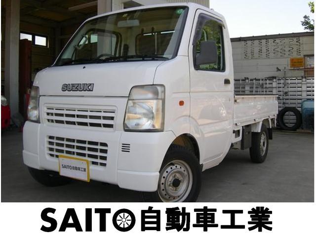 スズキ KCエアコン・パワステ パートタイム4WD 5速マニュアル