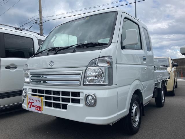 スズキ スーパーキャリイ X AC 5速ミッション 軽トラック レーダーブレーキサポート