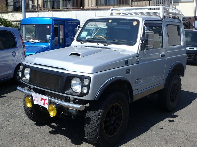 スズキ ワイルドウインド 4WD MOMOステ オーバーフェンダー