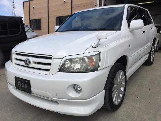 トヨタ 2.4S ワンオーナー HID エアロ