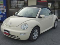 VW ニュービートルカブリオレナビ ETC 本革シート