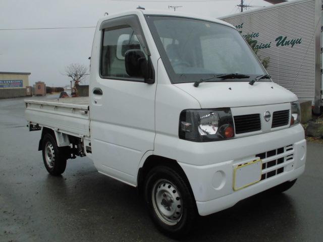 日産 SD軽トラックエアコン付タイミングベルト交換済タイヤバリ山