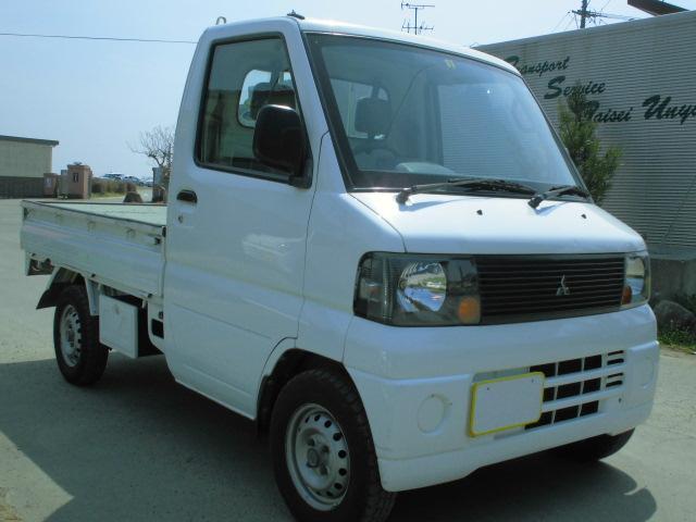 三菱 19年式5速3方開軽トラエアコンパワステ車検付込み込み価格!