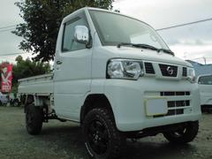 NT100クリッパートラックDX5速4WD4インチリフトアップMTタイヤアルミホイール