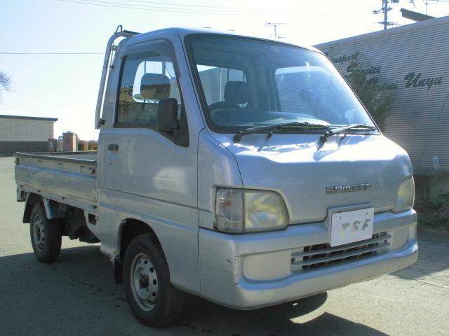 スバル TCエアコンパワステ5速EL付4WD3方開軽トラック