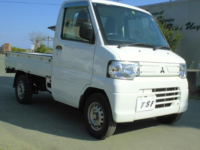 三菱 25年式後期型5速3方開軽トラック9万キロエアコンパワステ