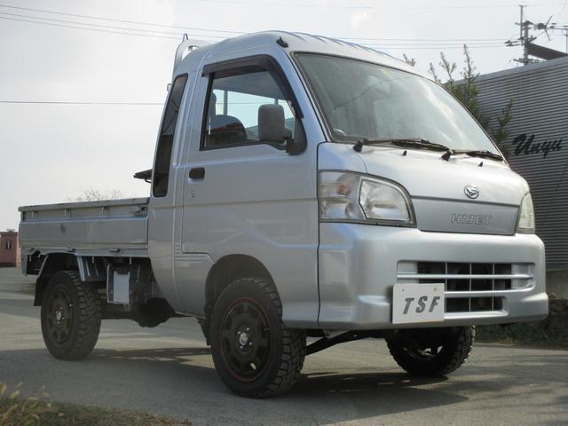 ダイハツ ジャンボ AT 4WD 2インチリフトアップ MTタイヤ キーレス パワーウインド タイミングチェーンエンジン エアコン パワステ パワーウインド