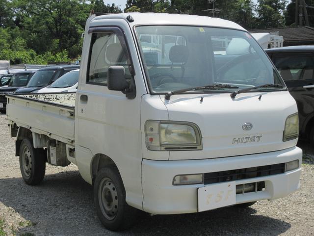 ダイハツ ハイゼットトラック スペシャル 5速 4WD エアコン付 3方開軽トラック タイミングベルト交換済み