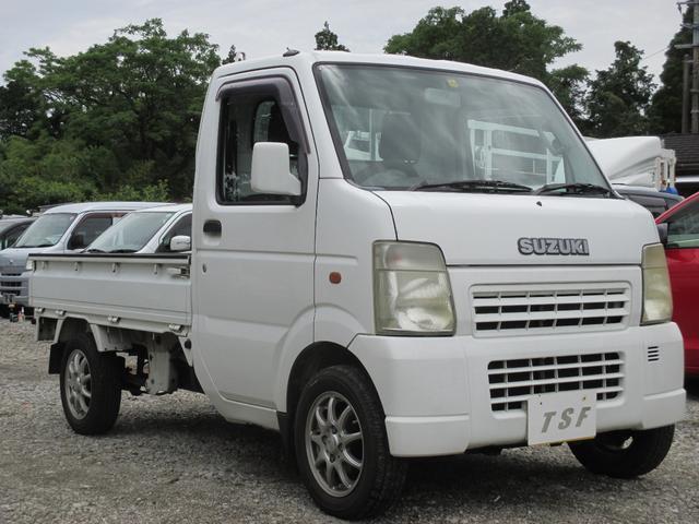 スズキ キャリイトラック KC AT車 エアコン パワステ タイミングチェーンエンジン 3方開軽トラック