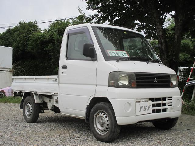 三菱 ミニキャブトラック ベースグレード エアコン付 3方開軽トラック タイミングベルト新品交換済 ETC付