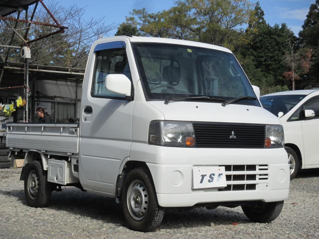 ベースグレード 4WD エアコン パワステ 走行9万キロ台 3方開軽トラック