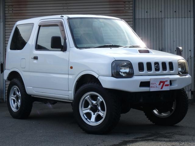 スズキ オートマ 4WD ターボ 2inリフトアップ MTタイヤ