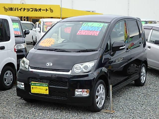 ダイハツ カスタム X 純正CDアルミスマートキー車検2年付