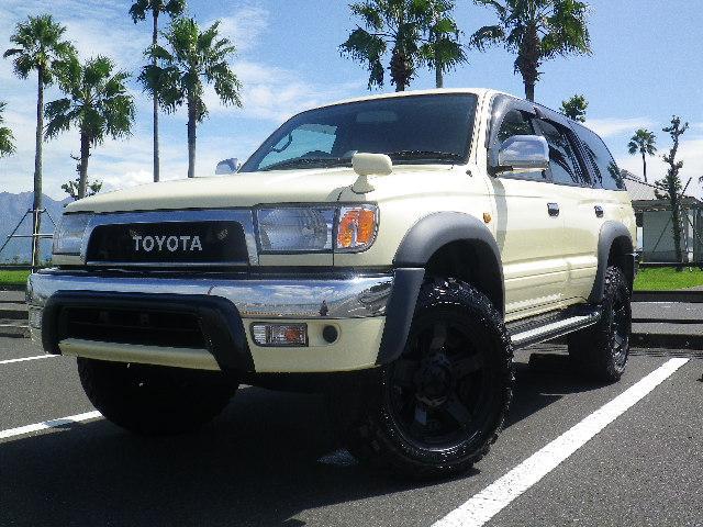 トヨタ 1ナンバー可 全塗装  17アルミ マッドタイヤ