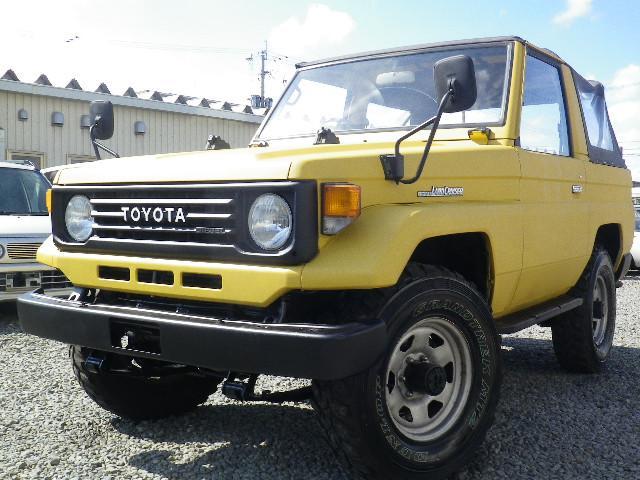 トヨタ 幌 オープンタイプ 5速マニュアル クーラー 全塗装