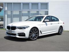 BMW523d Mスポーツ 認定中古車 デモカー 20インチAW