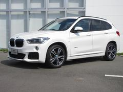 BMW X1 sDrive 18i Mスポーツ BMW正規認定中古車