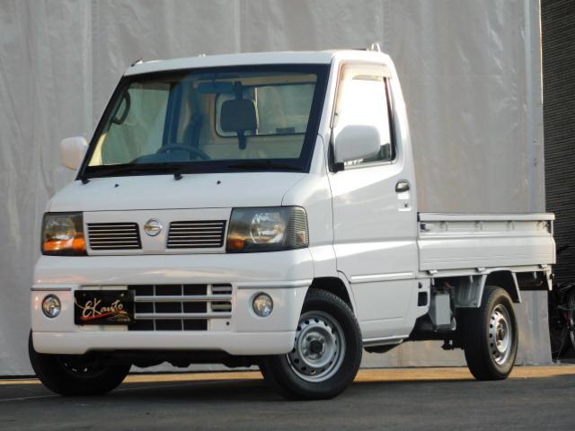 日産 DX  禁煙車 4WD AT パワステ エアコン 作業灯