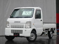 キャリイトラックKCエアコン・パワステ 4WD オートマ 荷台ゴムマット