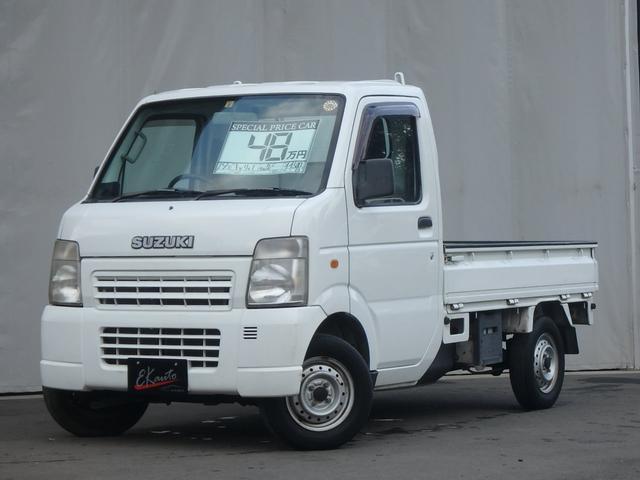 スズキ KCエアコン・パワステ 4WD Hi-Low切替 3方開