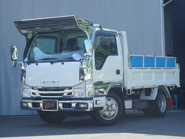いすゞ 強化ダンプ 3t積載 低床 新明和ダンプ ETC