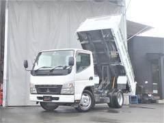 キャンターダンプ 3t積載 全低床 荷台塗装済 ETC 4.9Lディーゼルターボ