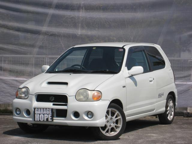 スズキ RS/Z 5速MT DOHCターボ 14アルミ Goo鑑定車