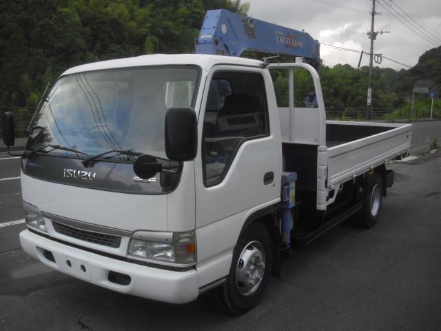 いすゞ 5段ラジコンクレーン 積載3500kg 全塗装 荷台3700