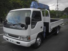 エルフトラック5段ラジコンクレーン 積載3500kg 全塗装 荷台3700