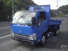 エルフトラック強化フルフラットローダンプ 2トンダンプ 塗装済み 5速MT