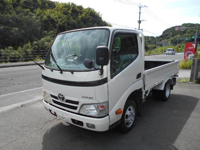 トヨタ ダイナトラック フルジャストロー 1.4トン 塗装済 3000ccディーゼルターボ 荷台内寸284x160cm 全低床