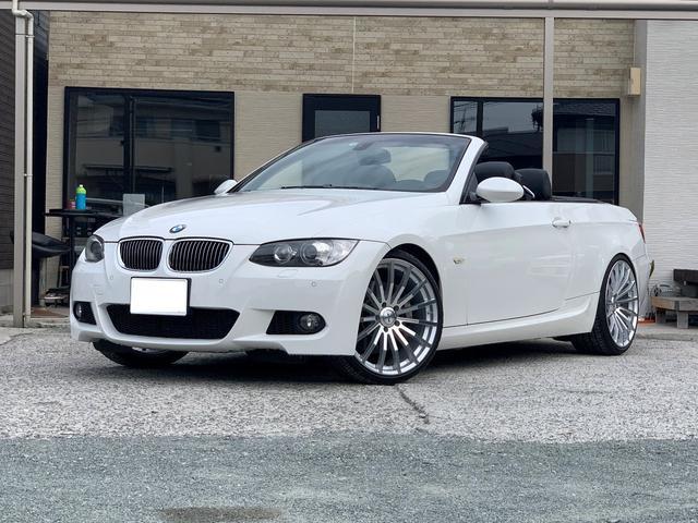 BMW 335iカブリオレ Mスポーツパッケージ 335iカブリオレ Mスポ  車高調、20AW  左ハンドル 6AT 直6 ツインターボ