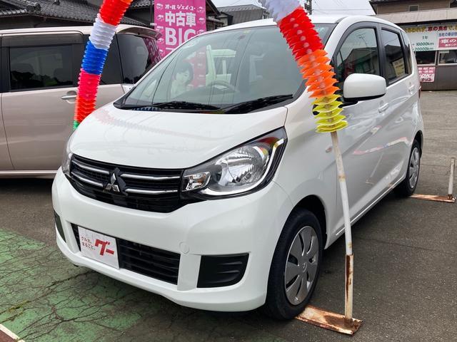 三菱 eKワゴン M 4WD キーレス アイドリングストップ シートヒーター 社外CDオーディオ 電動格納ミラー オートエアコン ベンチシート 3ヶ月3000km保証
