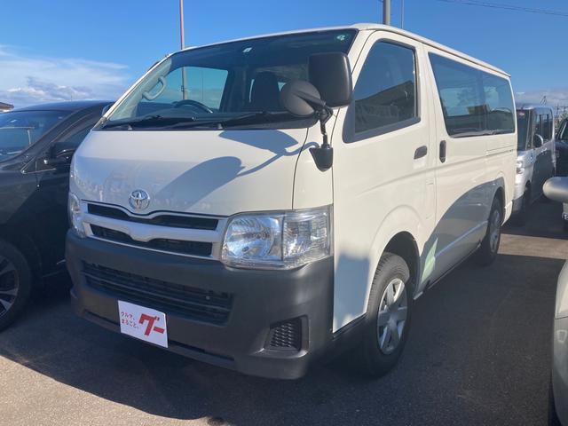 トヨタ ハイエースバン ロングDX 4WD キーレス ETC 両側スライドドア 3ヶ月3000km保証