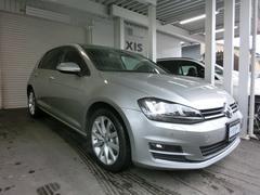 VW ゴルフTSIハイラインBMT1オナ 禁煙車 純正17AW キセノン