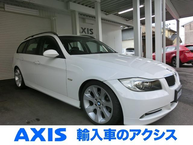 BMW 320iツーリング 1オナ 純正18AW ディ-ラ記録簿全有