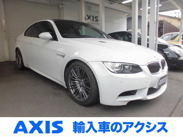 BMW M3 M3クーペ 6速MT MドライブPKG アルピンホワイト 禁煙車