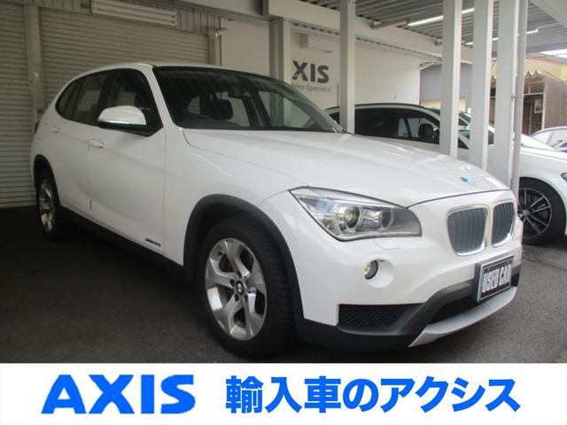 BMW X1 xDrive 20i ワンオーナー 禁煙車 純正17インチアルミ 純正ミラー内蔵ETC 純正キーレス2個 オールシーズンタイヤ