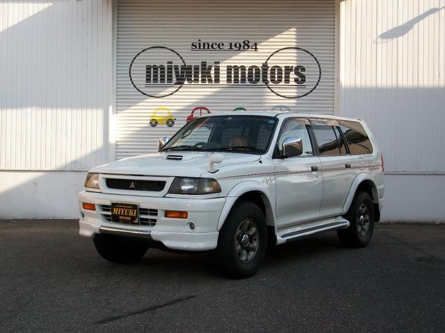 三菱 シティクルージング 4WD ディーゼルターボ 本革