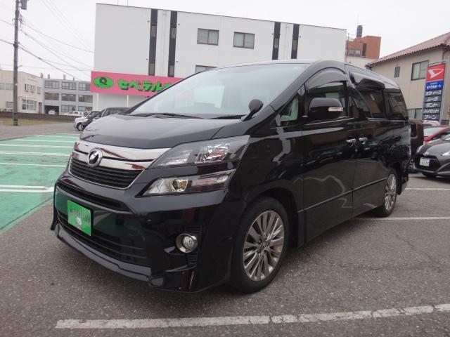 トヨタ 2.4Z ゴールデンアイズ 8インチナビフルセグTV