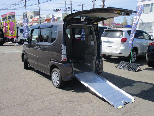 ホンダ G・Lパッケージ スローパー 4WD 福祉車両 電動ウインチ
