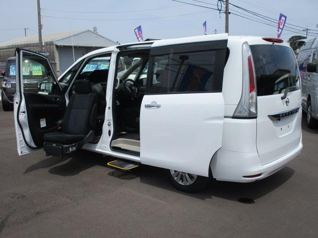 日産 アンシャンテ 助手席リフトアップシート ステップ 福祉車両
