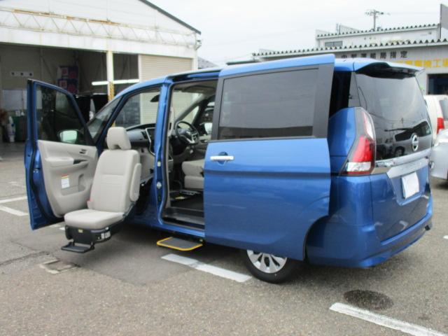 日産 B 送迎オートステップ助手席回転シート 大画面ナビ 福祉車両