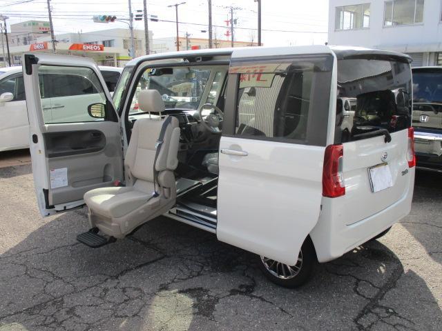 ダイハツ X SAIII 4WD 助手席リフトアップシート 福祉車両