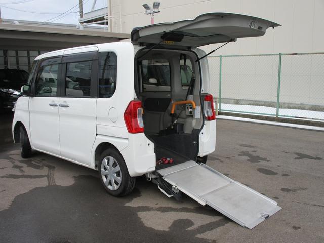 ダイハツ L スロープ 福祉車両 電動ウインチ 車いす固定装置手動タイプ