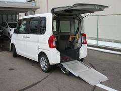 タントL スロープ 福祉車両 電動ウインチ 車いす固定装置手動タイプ CDオーディオ