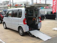 タントL スロープ SA3 福祉車両 電動ウインチ 車いす固定装置手動タイプ ウインチリモコン 手すり付き