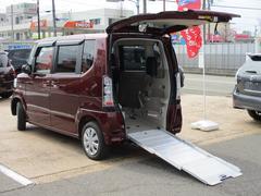N−BOX+G・Lパッケージ スローパー 4WD 福祉車両 電動ウインチ 車いす固定装置手動タイプ